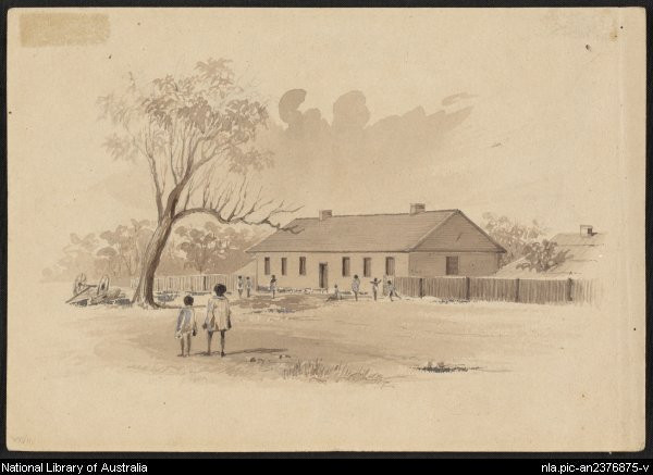 Native School Establishment opened 1845 by Samuel Giles