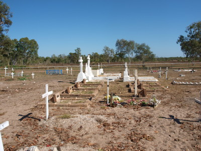The Beagle Bay cemetery