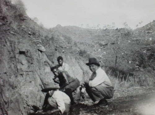 Huegel at Rockhole about 1934