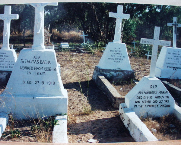 Grave of Br. Kasparek, Br. Bachmair and Br. Pusken