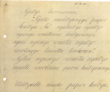 Letter from Wailtyi