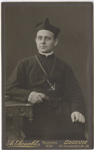 A young Fr. Droste