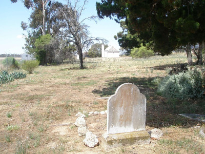 The graves of Philip, and his daughter Alice Pepper