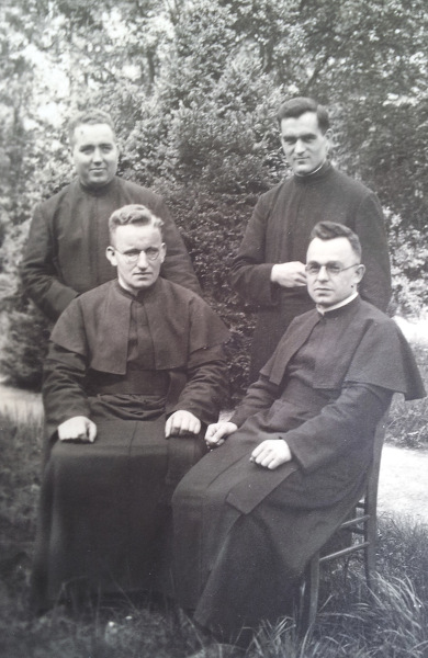 Fr Herold with Group