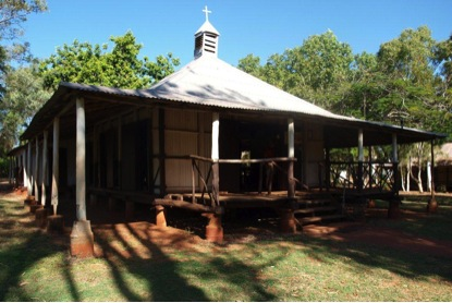 Lombadina Bush Timber church