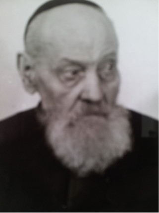 Fr Stutting in his later years