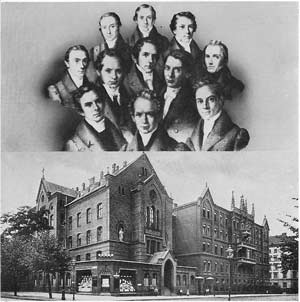 Berlin missionaries and the training institute